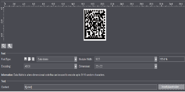 Barcode Editor